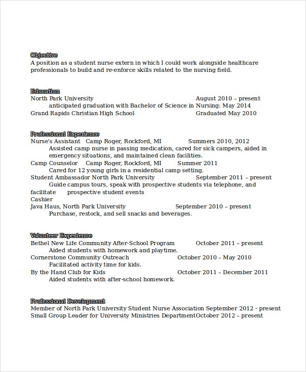 entry level resume example for nurses - How To Write A Entry Level Resume