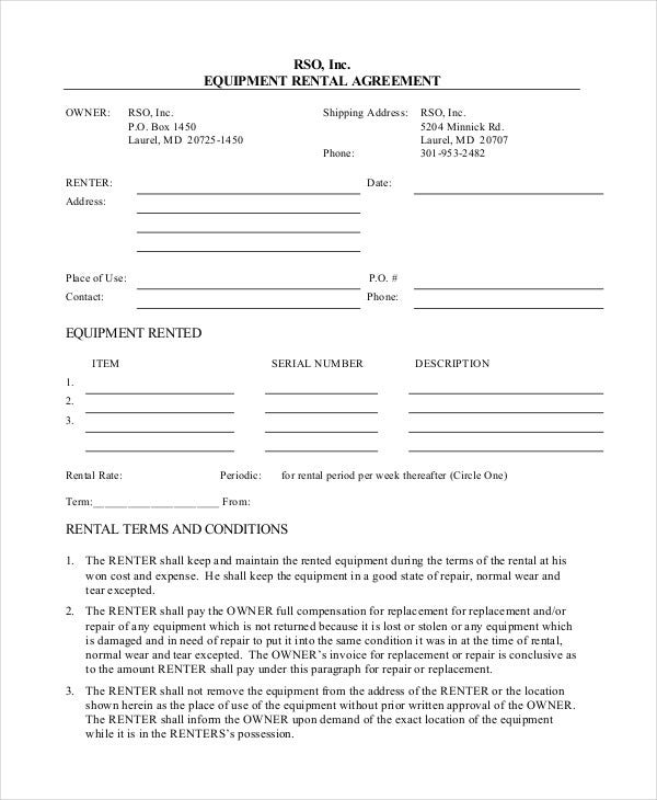 equipment-rental-agreement-form