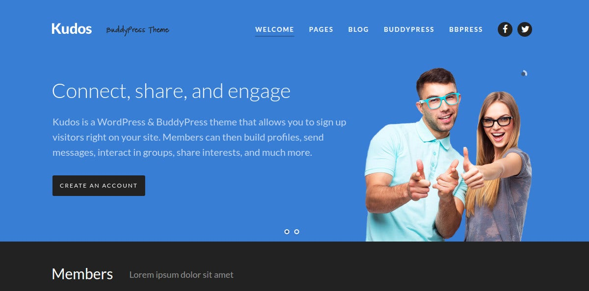 community design buddypress theme 64