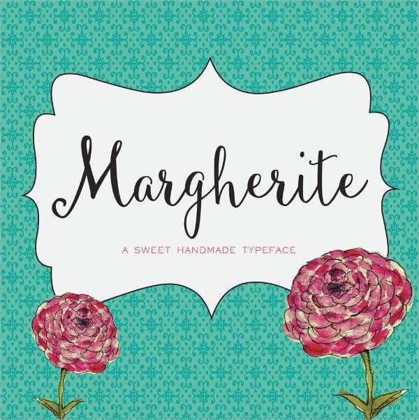 Margherite Script Cursive Font