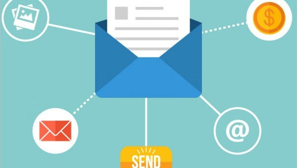 email icon feature images