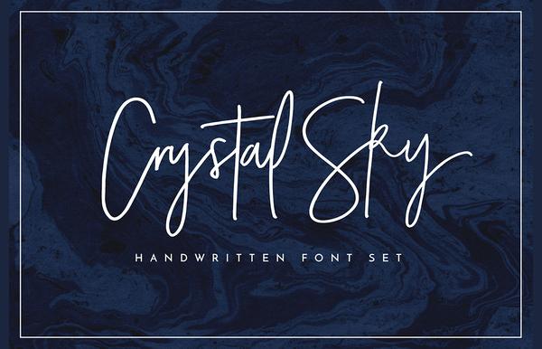 Signature Style Cursive Font