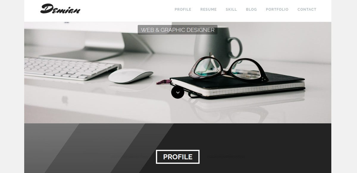 Creative Artist WordPress Website Theme $49