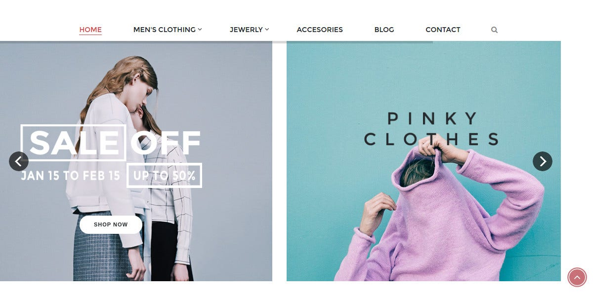 Fashion Boutique eCommerce Magento Themes $89