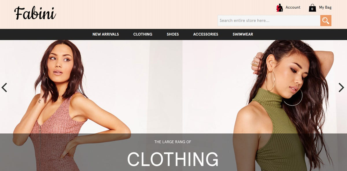Fashion eCommerce Magento Theme for Womens $79