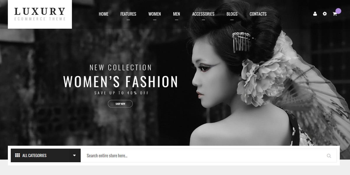 Fashion Jewelry Magento Theme $84