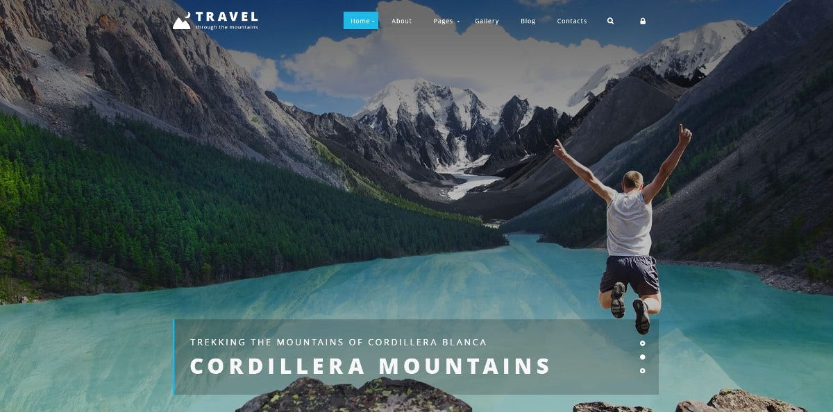 quick start package travel agency joomla template 75