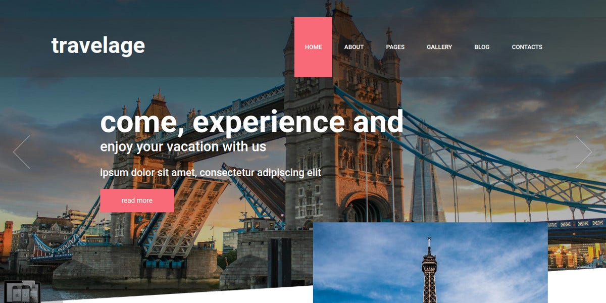 Travel Joomla Template for Travel Agency $29