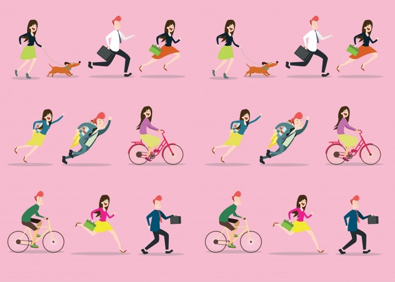 isometric people daily activities free download