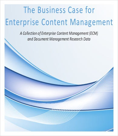 Content Management Business Case Template