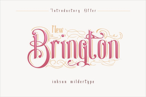 New Brington Wedding Font