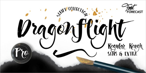 Dragonflight Wedding Font