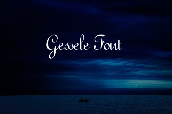 Gessele Wedding Font