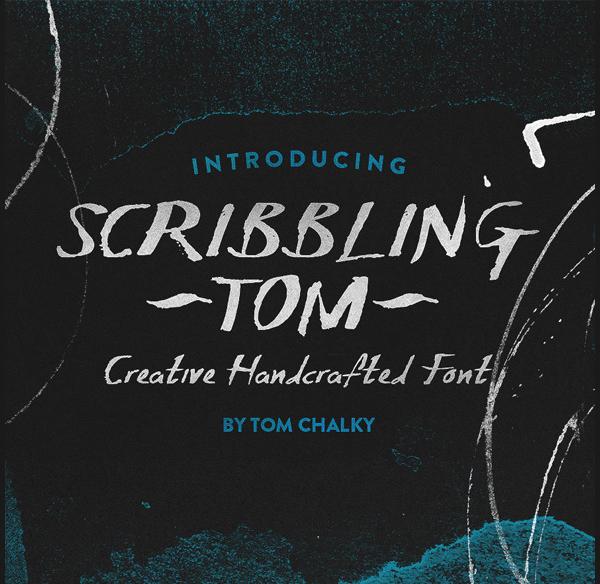 Hand Written Scribble Font