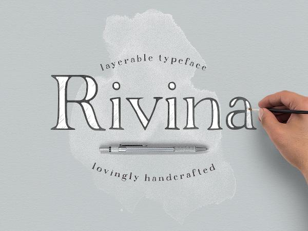 Rivina Scribble Font