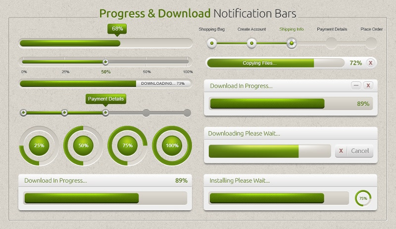 prtogress-bar-of-download-process
