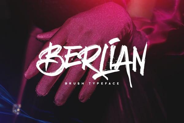 Berlian Grunge Font