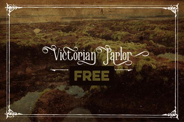 Victorian Parlour Grunge Font