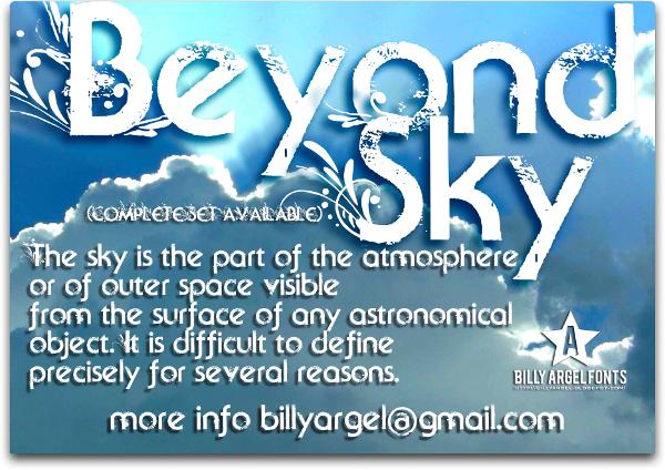 Beyond Sky Grunge Font