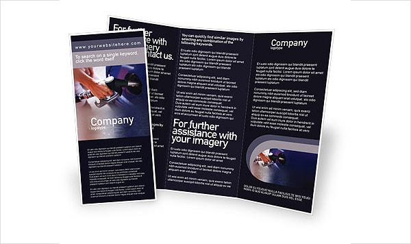 Free Fuel Brochure Template
