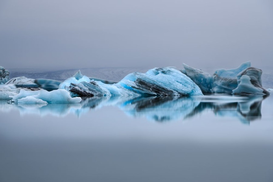 iceberg on the lake iceland