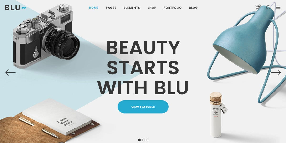 Beautiful Businesses WordPress Theme $59