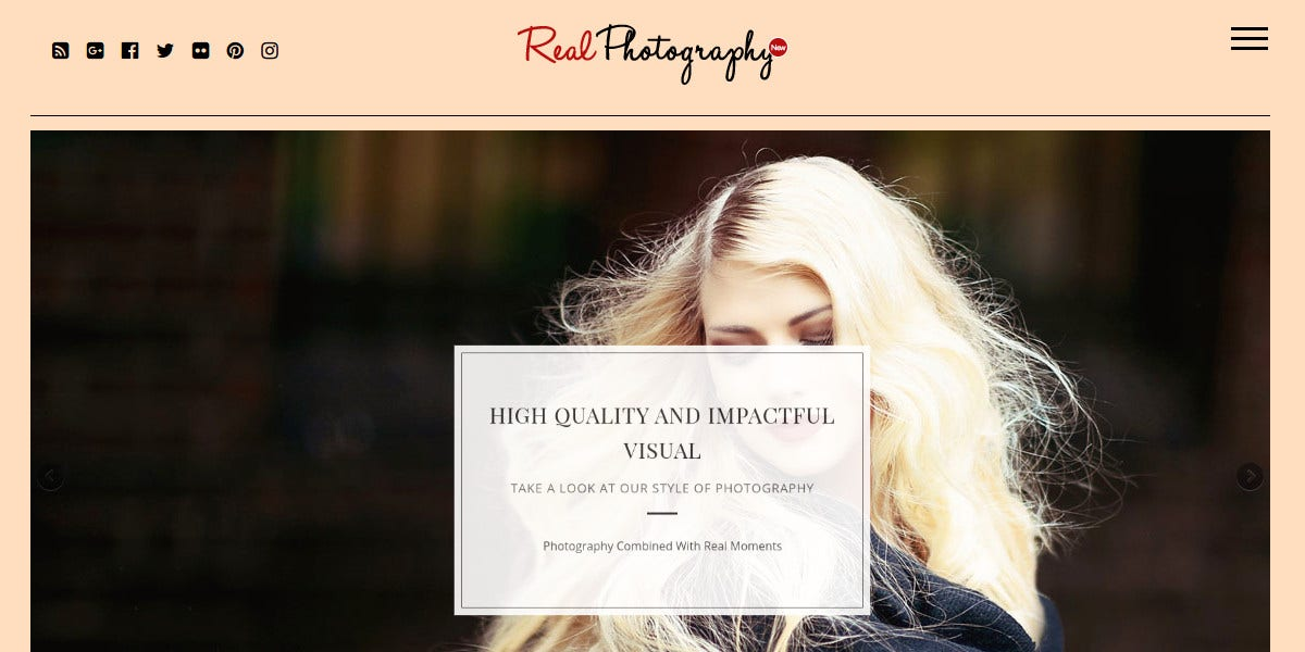 New Photography WordPress Themes $147