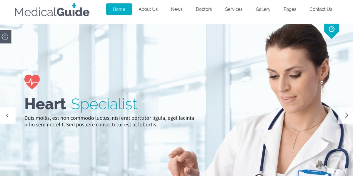 Best Medical WordPress Themes $59