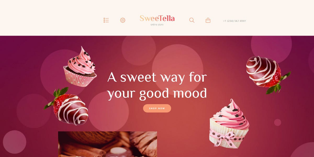 Awesome Sweet Store WordPress Themes