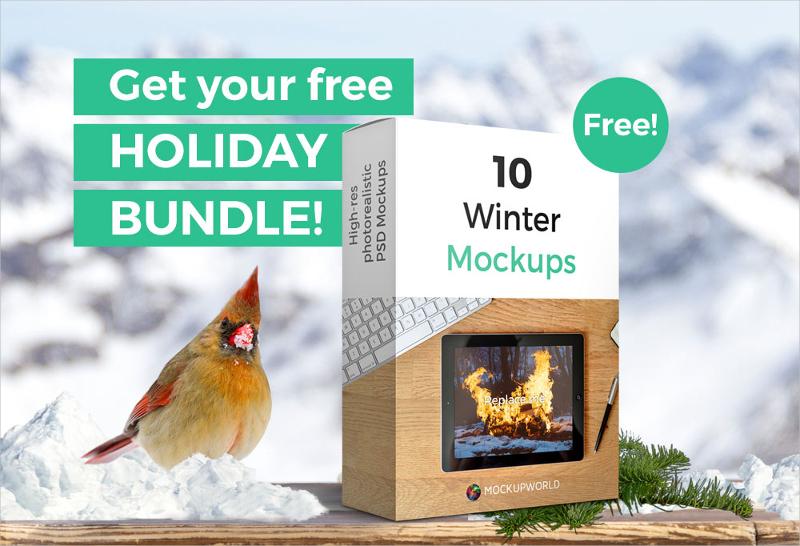 Free Season Mockup Bundle
