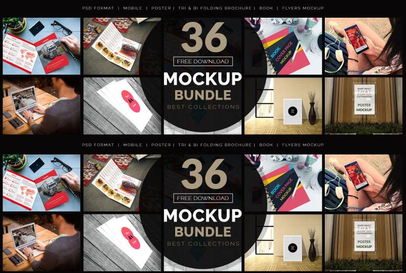 free mockup bundle