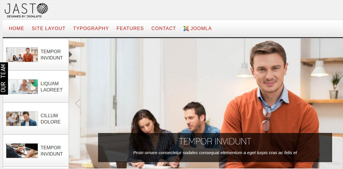 Free Joomla, Drupal and WordPress Theme.