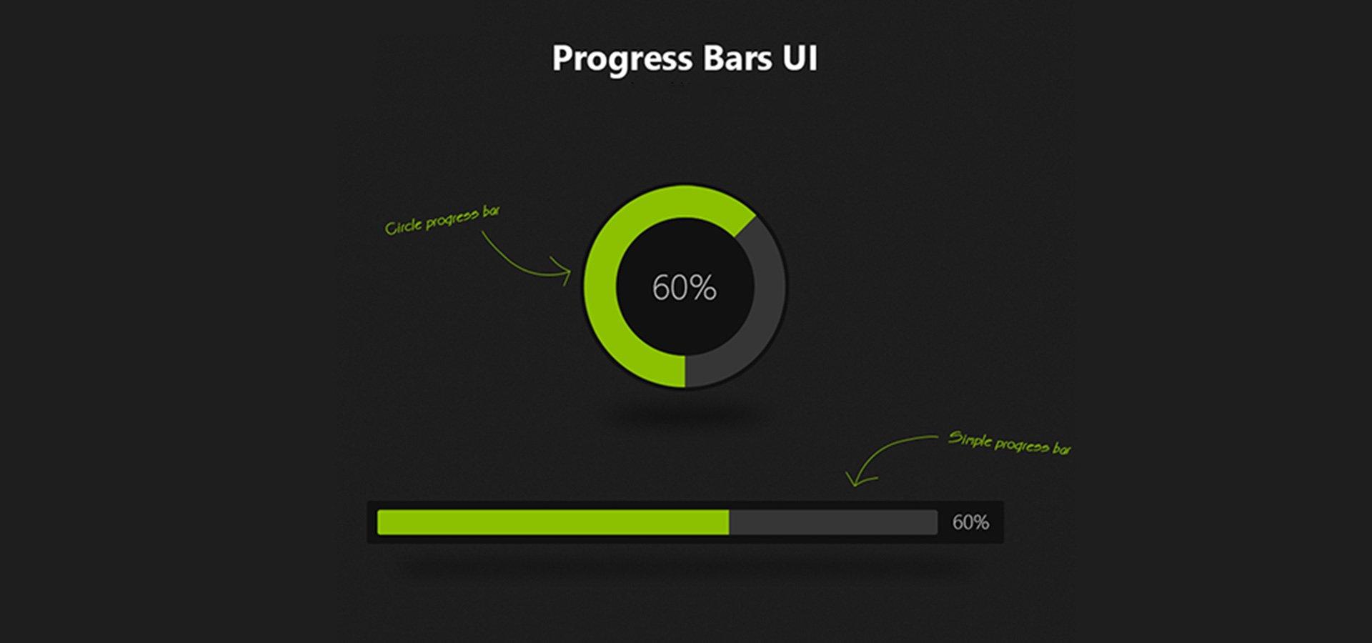 25+ Progress Bar Designs | Free & Premium Templates