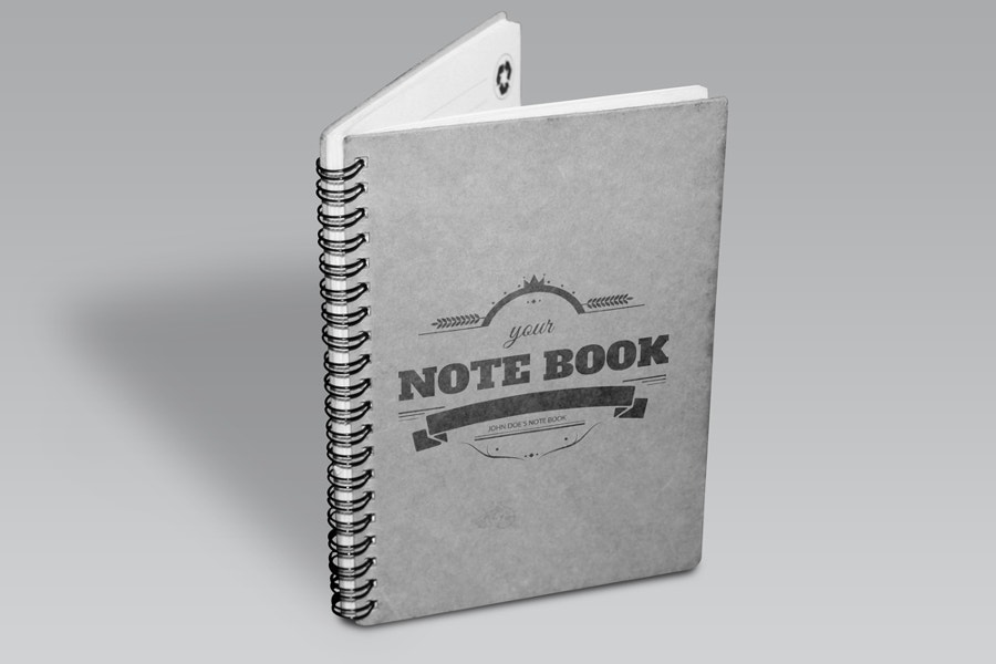 notebook-mock-up-on-a-pleasent-background