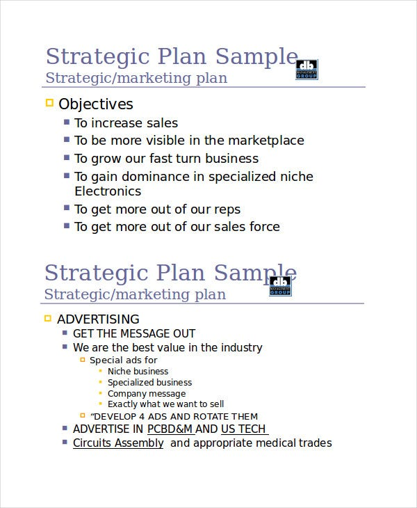 sales plan presentation template