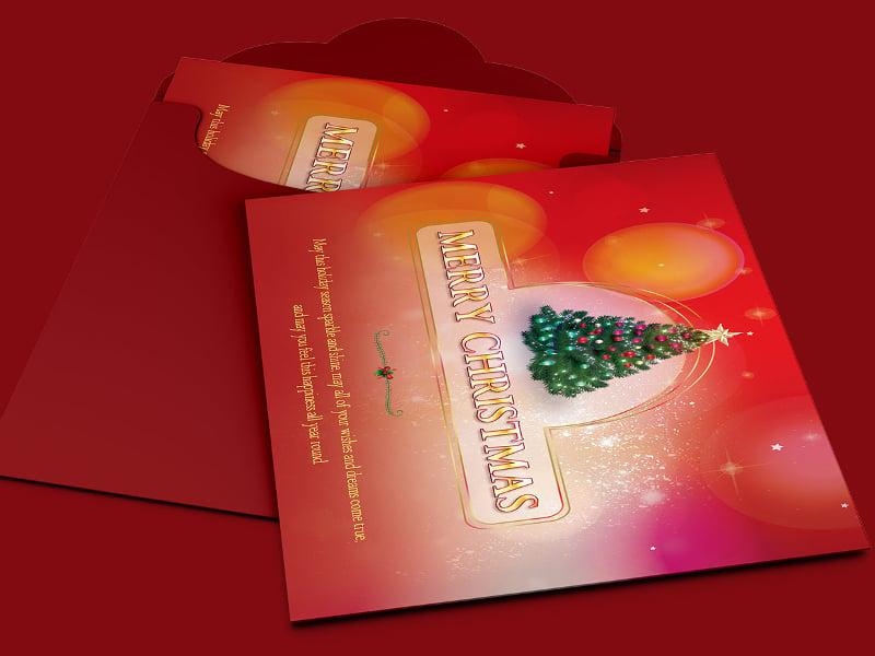 beautiful greeting card template