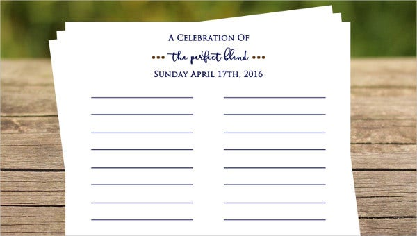 Event Sign In Sheet Template 17 Free Word Pdf Documents Download Free Premium Templates