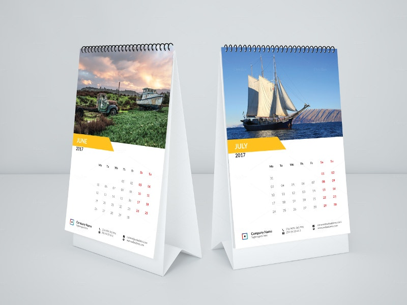 Calendar Design Templates Free Download : Calendar mockups designs free premium templates