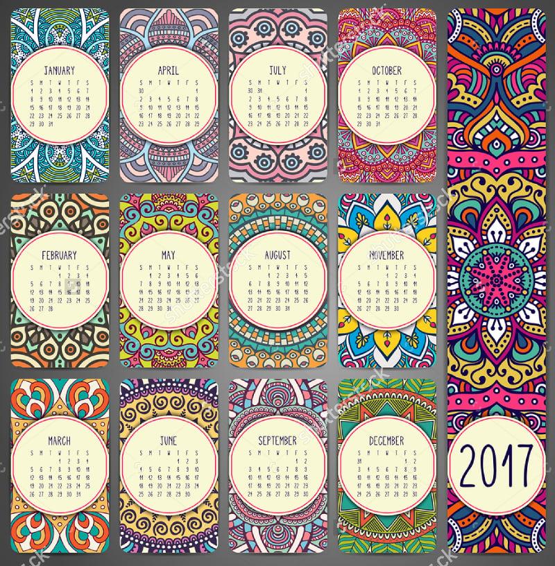 vintage-calendar-design