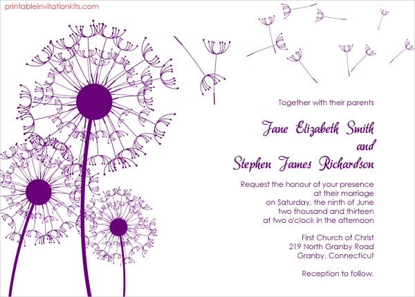 Invitation Template 15 Free PSD Vector EPS Format Download