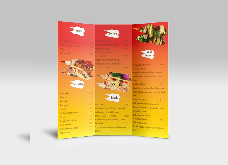 mexican-style-menu-design