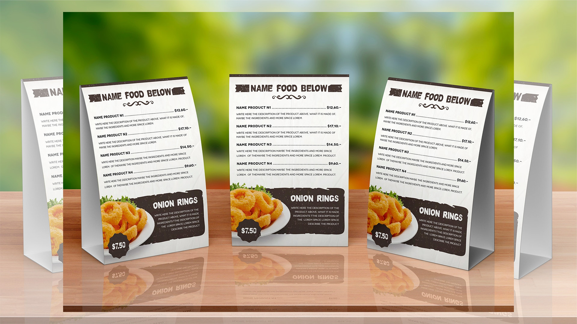33 Beautiful Restaurant Menu Designs Psd Eps Ai Free Premium Templates