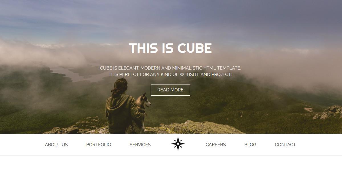Responsive Non Profit HTML Landing Page Template $12