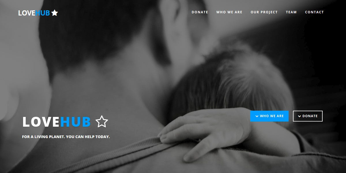 Multipurpose Non Profit & Church Landing Page Theme