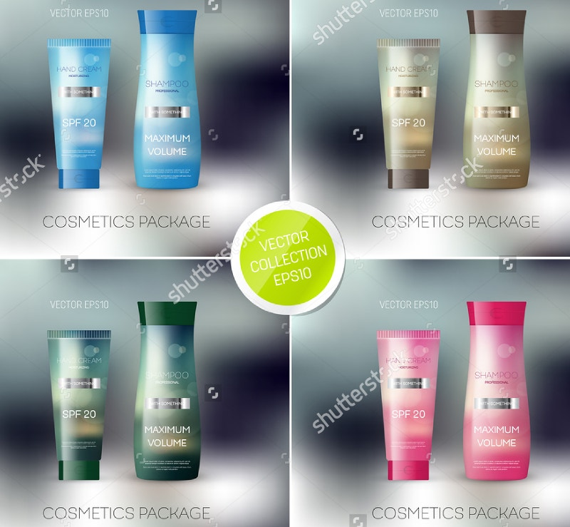 vector-body-care-cosmetic-collection