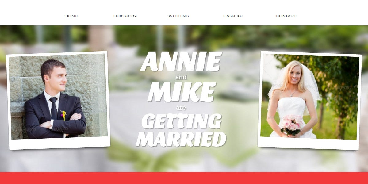 Wedding Event Responsive Concrete5 Theme $43
