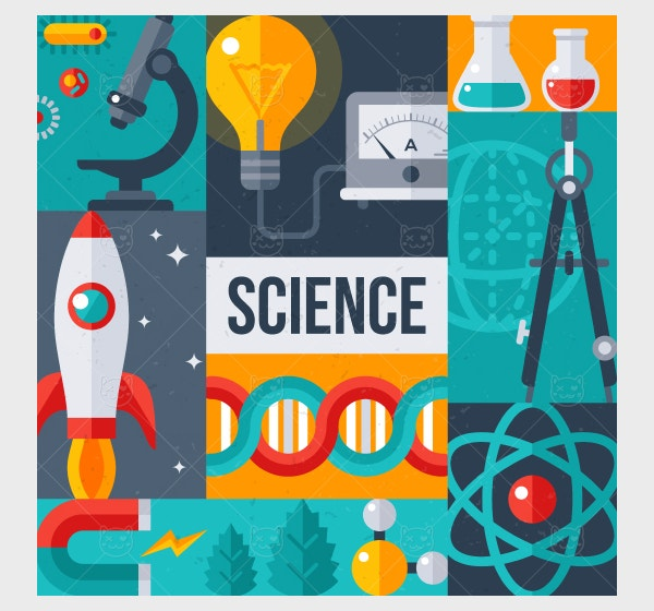 Science Laboratory Research Creative Poster