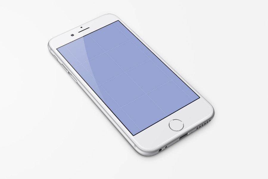 Free PSD iPhone 7 Template