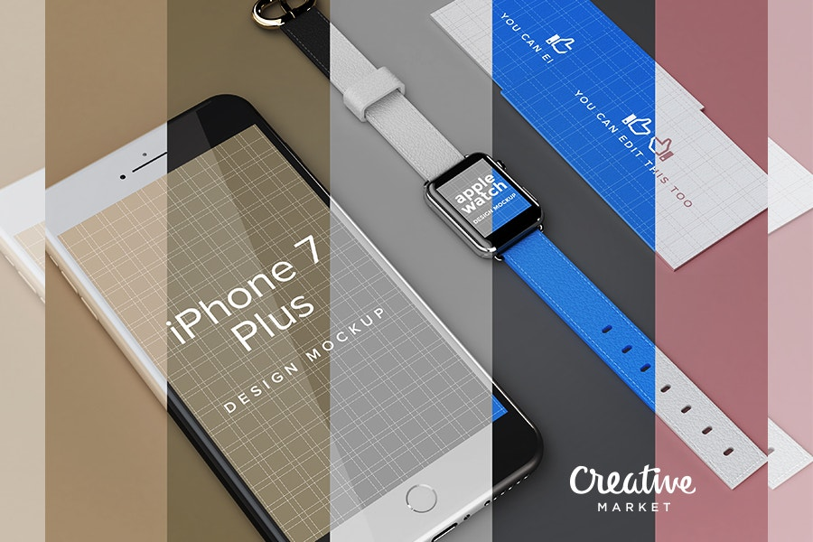 branding design iphone mockup
