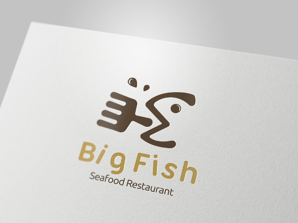 Big Fish Restaurant Logo